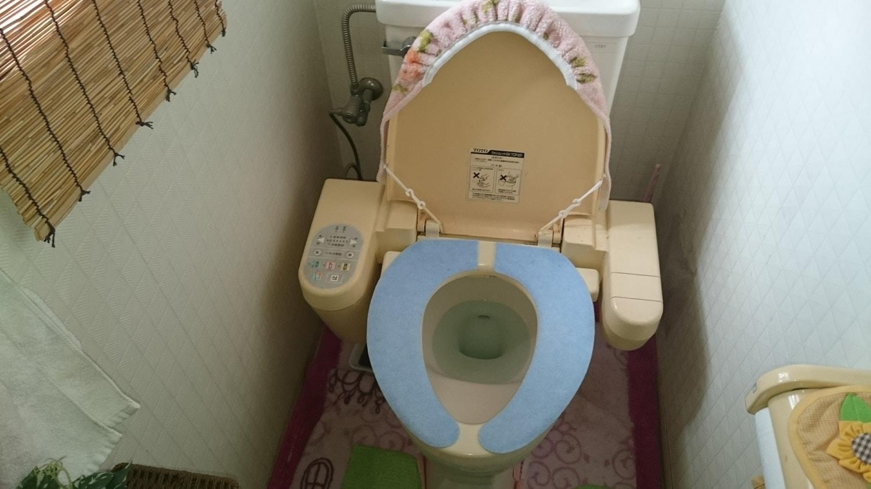 住宅トイレ、設備設置・内装工事